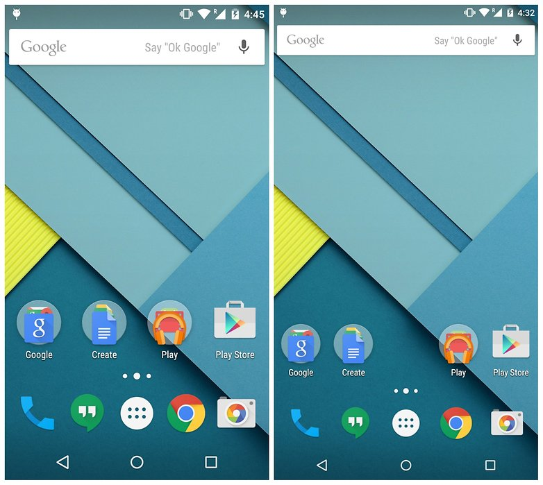 Nexus 6 resolution differencesution