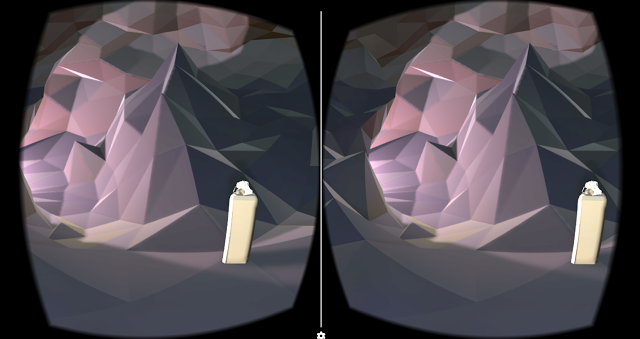 Cartoon Jesus on Google Cardboard