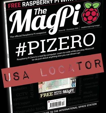 Magpi Issue 40 cover snazzy vintage